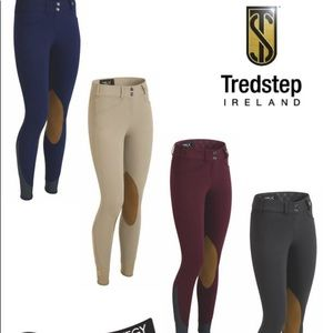 Wine colored tredstep Ireland solo hunter pro